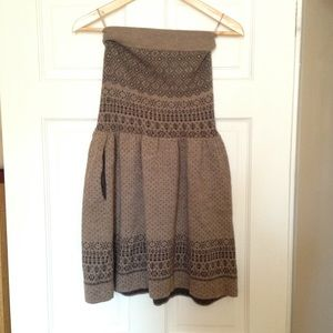 Urban Outfitters Tube Top Sweater Dress